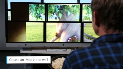 When Thunderbolt was new, the Macworld staff first tested its practical uses. Then we got to this video of stupid Thunderbolt tricks. This is a moderate-quality production; our small staff size couldn't ship this style daily, but I like to mix in a range of production levels. I produced and co-wrote this video.